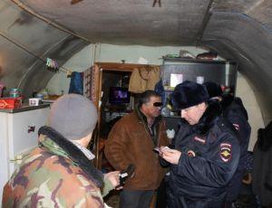 Полицейские Советского района Югры устроили облаву на нелегалов