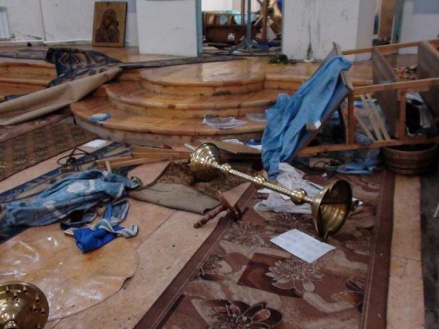377 Свердловская область: житель села  разгромил церковь Православие Свердловская область