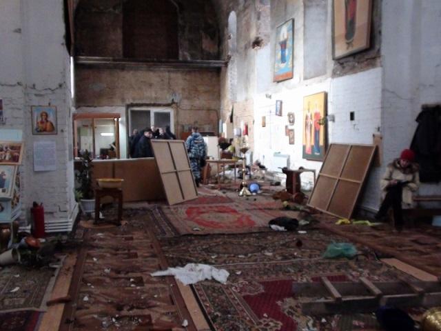 379 Свердловская область: житель села  разгромил церковь Православие Свердловская область