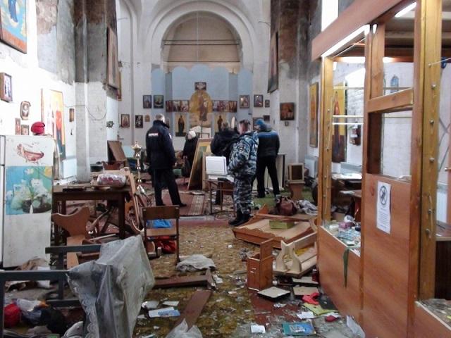 381 Свердловская область: житель села  разгромил церковь Православие Свердловская область