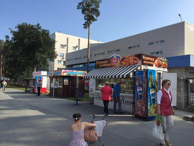 ВЕкатеринбурге полицейские разогнали торговцев около клиники