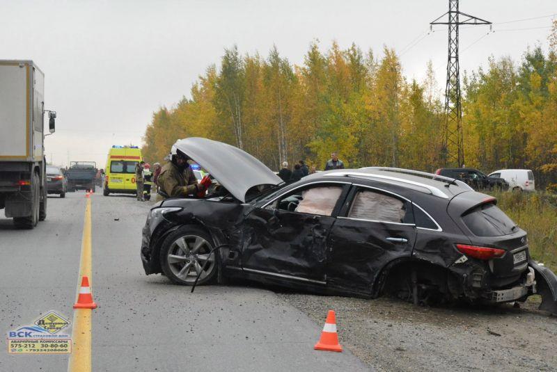 Натрассе «Нижневартовск-Радужный» случилось смертельное ДТП
