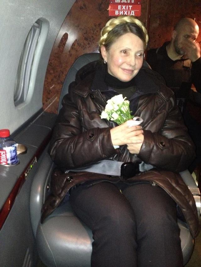 Новый Регион: Юлия Тимошенко вышла на свободу и уже готова побороться за кресло президента (ФОТО)
