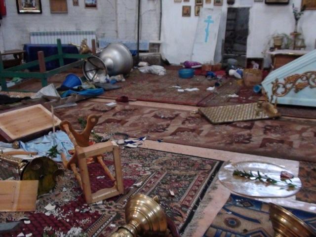 380 Свердловская область: житель села  разгромил церковь Православие Свердловская область